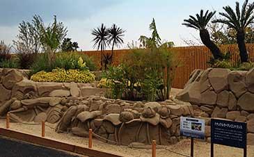 砂像とのコラボレーション